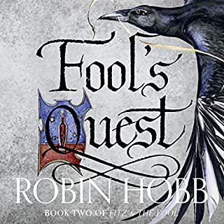 Fool's Quest     Fitz and the Fool, Book 2              By:                                                                                                                                 Robin Hobb                               Narrated by:                                                                                                                                 Lee Maxwell-Simpson,                                                                                        Avita Jay                      Length: 33 hrs and 55 mins     273 ratings     Overall 4.7