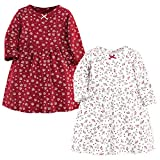 Hudson Baby Girl's Cotton Dresses, Winterland, 3-6 Months