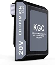 KGC Battery Replacement for ONEPWR, 20V Li-ion Rechargeable Battery Compatible with All Hoover ONEPWR Series Vacuum Cleane...