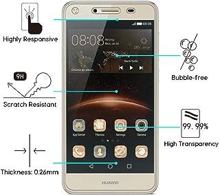 För Huawei Y3 Y5 Y6 II Compact 2 Honor5A CUN-U29 GR5 2017 TRT-LX1 L21A L21X LX3 0,26 mm 9H skärmskydd filmer härdat glas (...