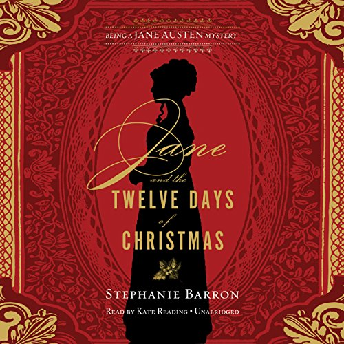 Jane and the Twelve Days of Christmas audiobook cover art