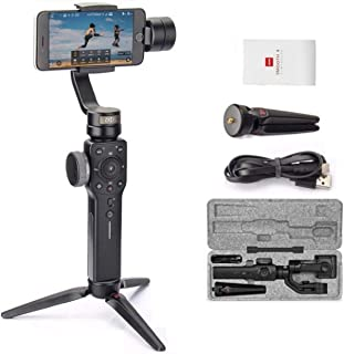 Zhiyun Smooth 4 3-Axis Handheld Gimbal Stabilizer for Smartphone/Born for Mobile Filmmakers/Focus Pull & Zoom Capability f...
