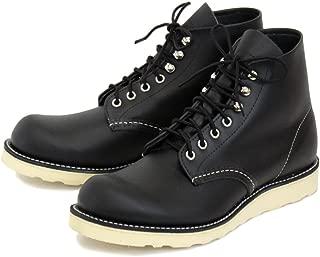 [レッドウィング] 8165 6inch CLASSIC PLAIN TOE ブーツ Black Chrome (ブラッククロムレザー)