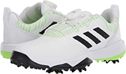 Footwear White/Core Black/Signal Green