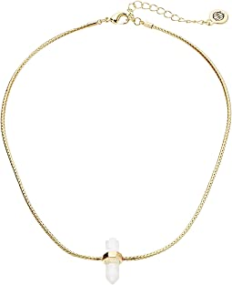 Dainty Single Crystal Choker