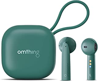 omthing Half in Ear Bluetooth Earphones, True Wireless Earbuds with 4 ENC Microphones, CVC 8.0 Noise isolution for Clear C...