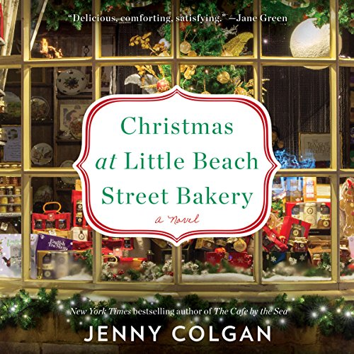 Christmas at Little Beach Street Bakery audiobook cover art
