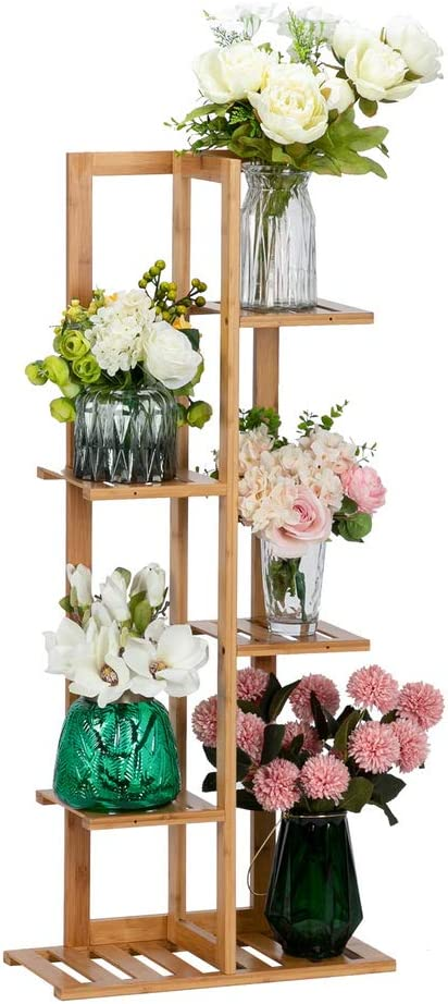 Directly managed store Elegant Plant Stand Tall Stands with 5 Corner 6 Potted Floors for