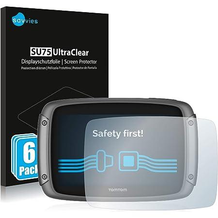 Savvies 6x Schutzfolie Kompatibel Mit Tomtom Rider 400 Displayschutz Folie Ultra Transparent Elektronik