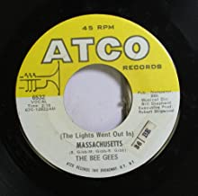 THE BEE GEES 45 RPM The Lights Went Out In / SIR GEOFFREY SAVED THE WORLD
