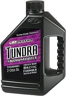 Maxima 249128 Tundra Snowmobile 2-Stroke Premix/Injector Oil - 1 Gallon Bottle