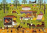 Buffalo Games - Charles Wysocki - Bang, Boom, Barn & Pow - 300 Large Piece Jigsaw Puzzle