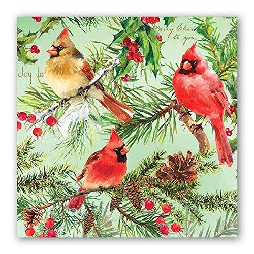 Michel Design Works Papier Luncheon servetten, Kerst Pine
