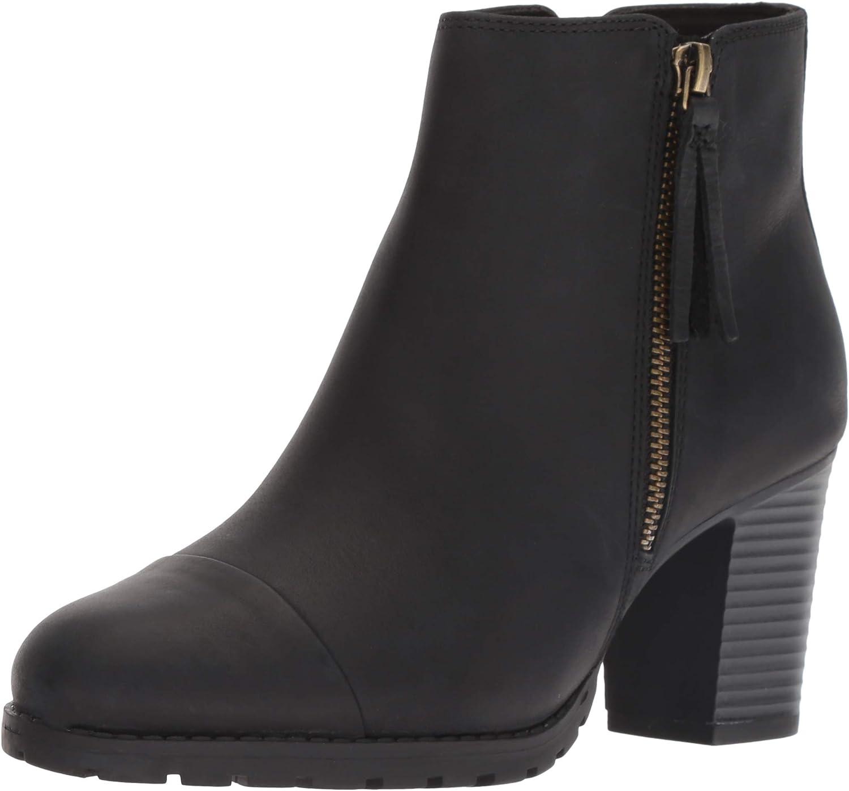 Clarks Womens Verona Peach Fashion Boot