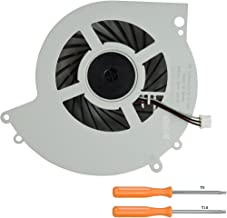 Rinbers Internal CPU GPU Cooling Cooler Fan Replacement Part for SONY Playstation 4 PS4 CUH-1200 CUH-12XX Series Console 500GB KSB0912HE with Tool Kit