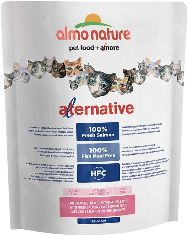 PaylesswithSS Almo Nature HFC Alternative with Fresh Salmon (3 x 750g)