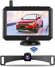 TX Digital Wireless Backup Camera Kit 5 Inch Monitor and Rear View Camera for Cars, Pickups, Trucks, Minivans, Campers, Sm...