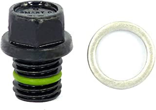 SMART-O R5 Oil Drain Plug M12x1.5mm - Engine Oil Pan Protection Plug with Anti-Leak & Anti-Vibration Function - Install Faster, Re-usable and Eco-Friendly
