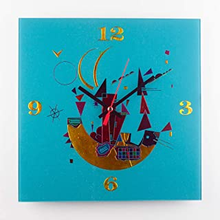 "Sandro Moro Vetro Design Reloj de pared""Kandinskji Time 5"