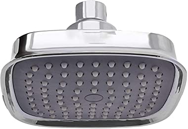 Klaxon Diamond ABS Over Head Shower/Shower Head/Bathroom Shower, Chrome Finish