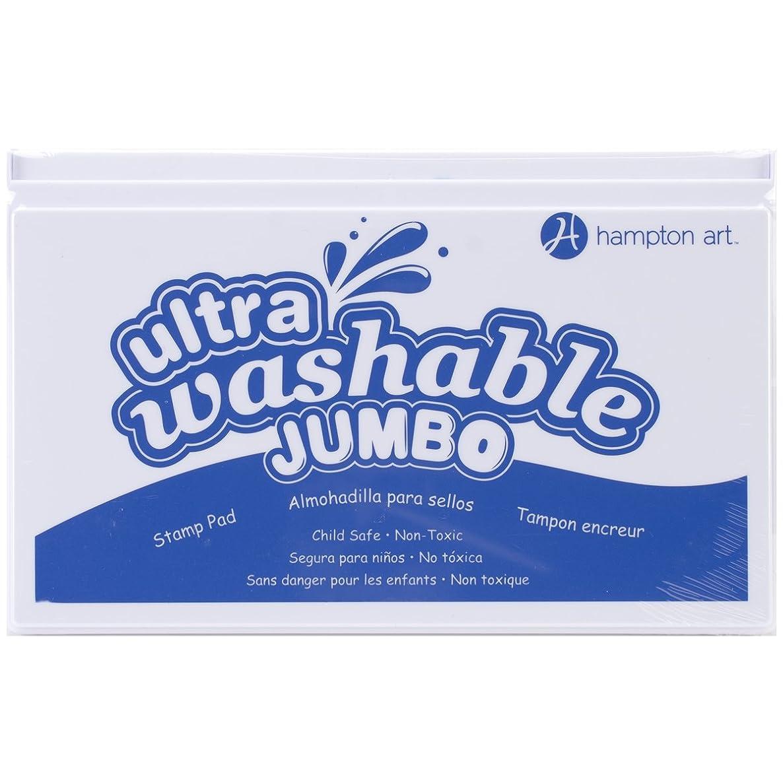 Hampton Art SP2101 Blue Jumbo Washable Ink Pad