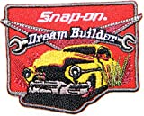 Snap on Tool The Choice of Better Mechaincs Logo Sign Racing Patch Iron on Applique Embroidered T shirt Jacket BY SURAPAN
