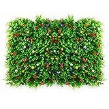 Plantas Hiedra Artificial Enredaderas Artificiales Verde Hojas De Seda Guirnalda Decorativo, para Balcón Y Cerca Celosía Seto con Hojas, Barrera Plegable De Mimbre para El Jardín