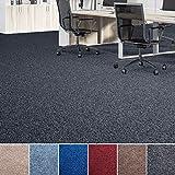 Floori Nadelfilz Teppich, GUT-Siegel, Emissions- & geruchsfrei, wasserabweisend | Viele Farben & Größen (100x200 cm, anthrazit)