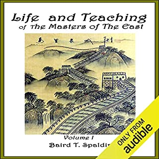 Life and Teaching of the Masters of the Far East, Book 1 audiobook cover art