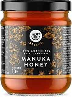 Amazon-Marke: Happy Belly Select Manukahonig 10, 340gr - MGO 261