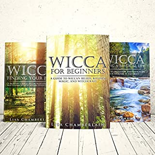 Wicca Starter Kit     Wicca for Beginners, Finding Your Path, and Living a Magical Life              By:                                                                                                                                 Lisa Chamberlain                               Narrated by:                                                                                                                                 Kris Keppeler                      Length: 6 hrs and 30 mins     101 ratings     Overall 4.6