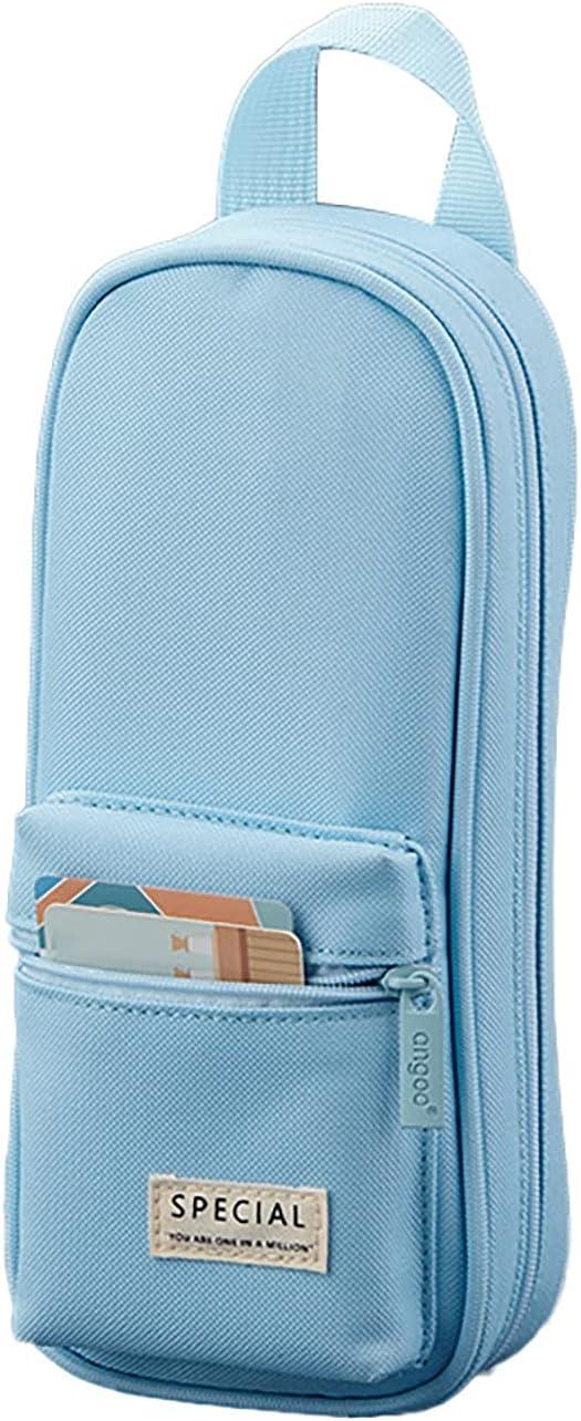 Snoiluo Large Import Capacity Bargain Pencil Pen Case Pou Multi-Function