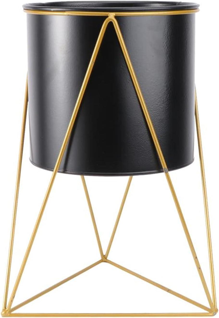 flower pot 1Pc Flowerpot Max 67% Finally popular brand OFF Metal Art Iron Plant Modern Decorative