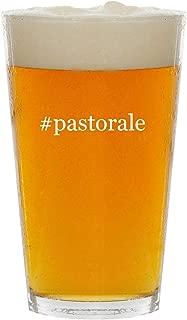 #pastorale - Glass Hashtag 16oz Beer Pint