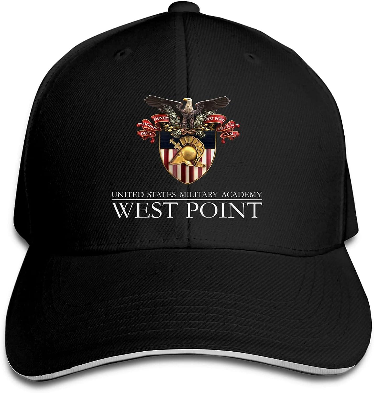 West Point Military Academy Baseball Cap Unisex Adjustable Hip Hop Classic American Style Snapback Hats