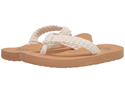 Roxy Kids Porto II (Little Kid/Big Kid) (Cream) Girl