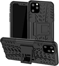 iPhone 11 Pro Max Case, UZER Shockproof Hybrid Slim Dual Layer Rugged Rubber Hybrid Hard/Soft Impact Armor Defender Full Body Protective Case With Kickstand for iPhone 11 Pro Max 6.5 Inch (2019 Model)