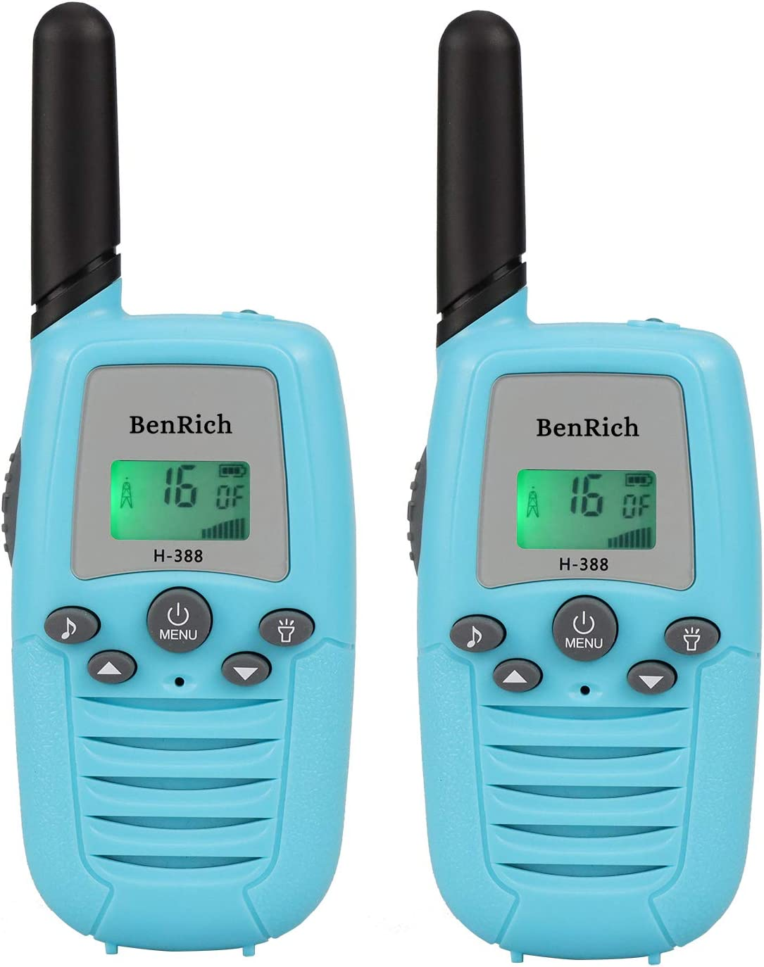 BenRich H-388 Walkie Talkies New item Toys Long 22 Radio Max 59% OFF Range Channel fo