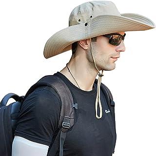 OZ SMART Sun Hat for Men/Women, Wide Brim Bucket Hats Certified UPF 50+ UV Protection for Fishing, Gardening, Hiking, Camping