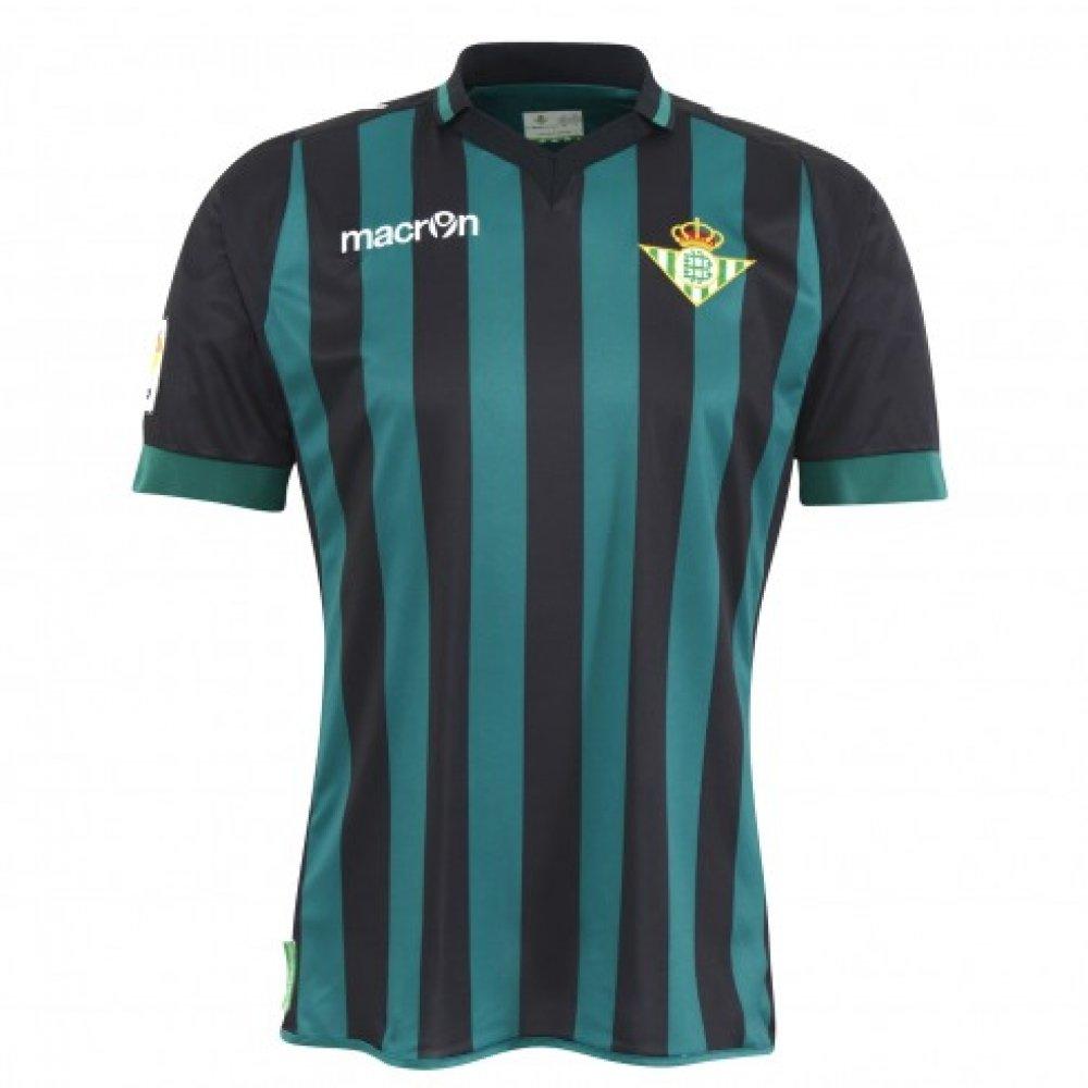 2013-14 Real Betis Away Macron Football Shirt: Amazon.es: Deportes ...