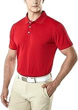 Premium Regular Fit Quick Dry Hi-Flex Active Tech Polohemd TSLA Herren Kurzarm Poloshirt
