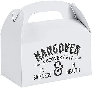 Hangover Rescue Favor Box (set of 12) Wedding Party Supplies