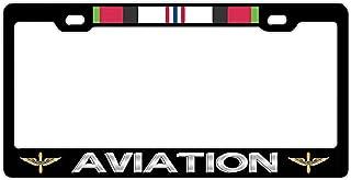Personalized License Plate Frame Black Metal Aluminum Holder Front Or Rear Bracket for US Car