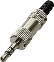 AERZETIX: 2x Conector enchufe Jack 3.5mm estereo macho para soldar C19502