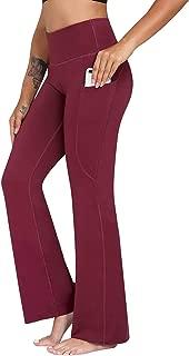 Best womens black bootcut leggings Reviews
