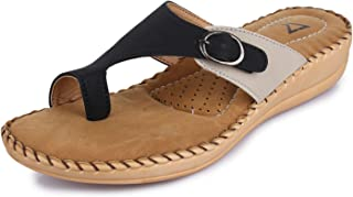 TRASE Women's Synthetic Doctor Sole Slippers