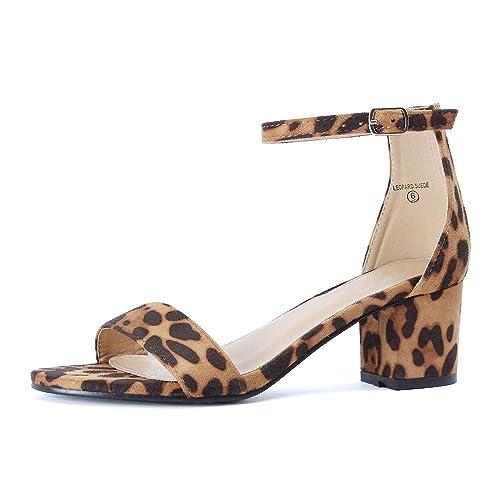 e1284a908ac Denim Block Heels  Amazon.com