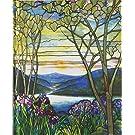 Tiffany Window Journal (Magnolias and Irises)