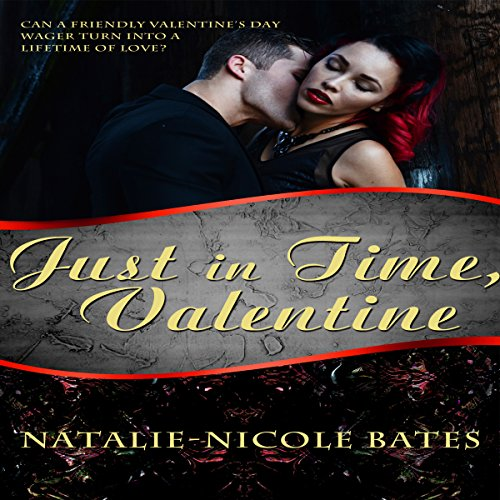 Just in Time, Valentine audiobook cover art