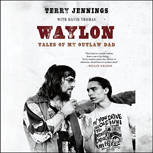 Waylon audiobook cover art